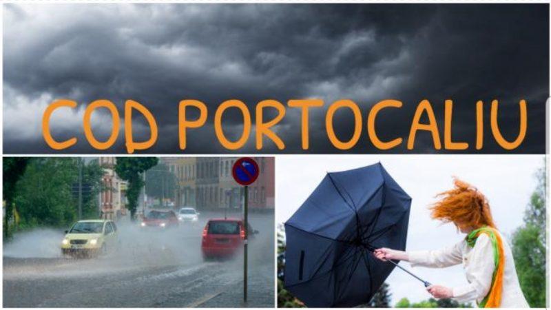 Alertă meteo! Meteorologii anunță ploi torențiale și vijelii. Ce zone sunt vizate de avertizări cod galben și portocaliu